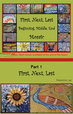 Mosaic K1 Distance Lessons