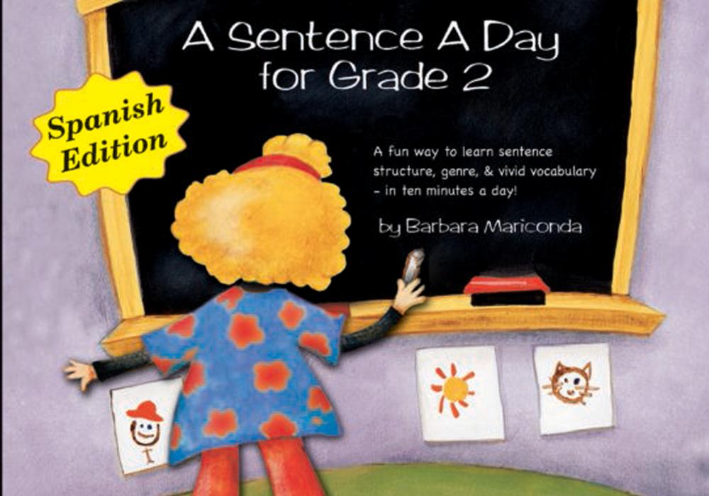A Sentence A Day For Grade 2