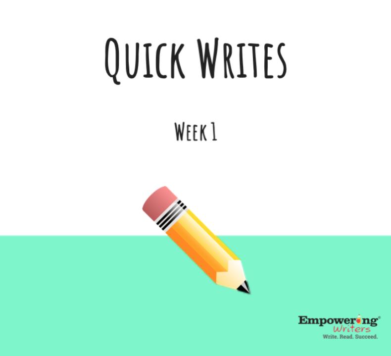 Quick Writes Image
